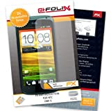 "atFoliX Displayschutzfolie f�r HTC One S (2er Set) - FX-Antireflex: Displayschutz Folie antireflektierend! H�chste Qualit�t - Made in Germany!von ""Displayschutz@FoliX"""
