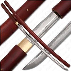 Handmade Japanese Shirasaya Samurai Katana Sword Sharp