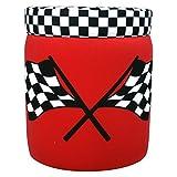Newco Kids Race Car Storage Ottoman, Red