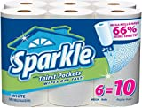 Sparkle Mega Rolls White (6 Rolls)