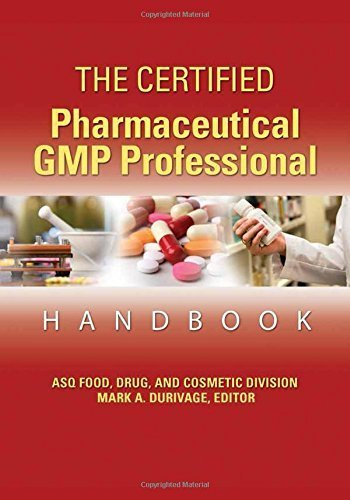 the certified pharmaceutical gmp professional handbook second edition pdf