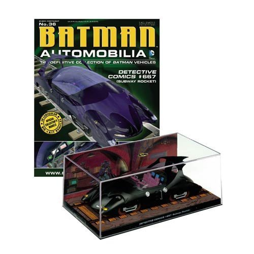 DC BATMAN AUTOMOBILIA FIGURINE COLLECTION MAGAZINE #36 DETECTIVE COMICS #667