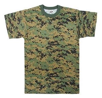 Rothco t-shirt / woodland digital camo