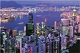 1000ピース 香港夜景 11-158
