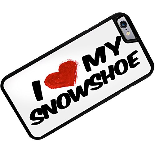 Rubber Case for iphone 6 I Love my Snowshoe Cat