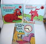 Disney's Winnie-the-Pooh and Clifford Set of 3 Spanish Language Books - Hardcover (Di la hora con Pooh, Clifford el gran perro colorado, Clifford at rescate)