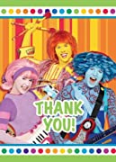 Doodlebops Thank You Cards Party Accessory