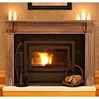 Pearl Mantels Alamo Wood Fireplace Mante...
