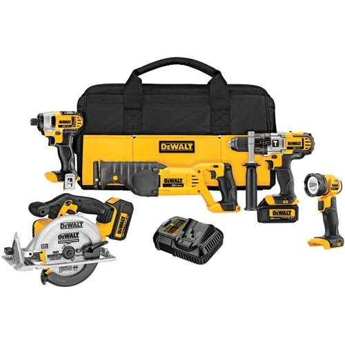 Great Features Of DEWALT DCK592L2 20V MAX Premium 5-Tool Combo Kit