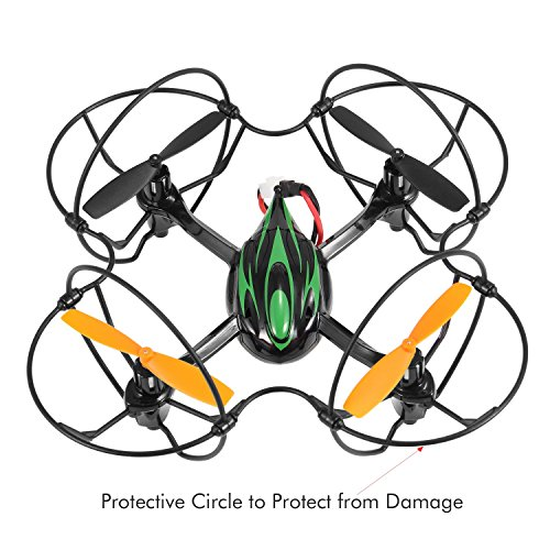TheeFun-TX4-6-Axis-2-Speed-24GHz-RC-Quadcopter-with-Protective-CircleBlack