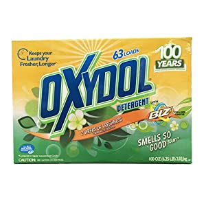 Oxydol with Biz Smells So Good Scents Laundry Detergent - 63 Loads