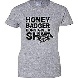 Honey Badger Don't Give A Shit Women's T-Shirt