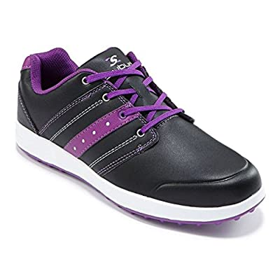 2016 Ladies Stuburt Urban Casual Womens Spikeless Golf Shoes-Leather