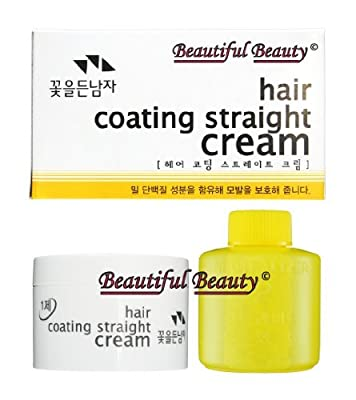 The Flower Men Hair Coating Straight Cream