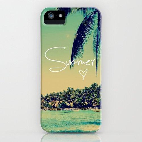 [ソサエティシックス] Society6 iphone 5 ケース 各種[並行輸入品] (Summer Love Vintage Beach)
