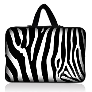 2 Laptop Skin Shop 15 6 Inch Laptop Sleeve Bag Carrying Case Pouch With Hidden Handle For 14 15 15 4 15 6 Apple Macbook Gw Acer Asus Dell Hp Sony Toshiba Zebra Print Laptop