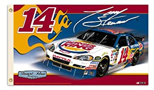 NASCAR Tony Stewart #14 Burger King 2-Sided 3-by-5 Foot Flag with Grommets by BSI