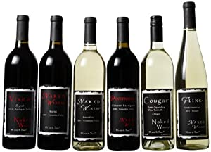 Naked Winery Naked 6 Pack -750 mL - Gay and Lesbian Wedding Gift