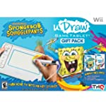 Thq Udraw Game Tablet With Spongebob...