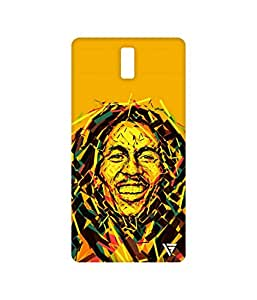 Vogueshell Graffiti Bob Marley Printed Symmetry PRO Series Hard Back Case for Oneplus One