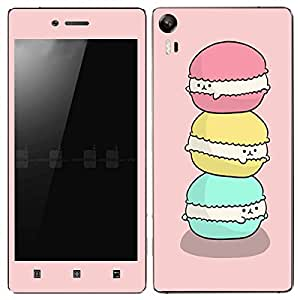 Theskinmantra Ouch Donut Lenovo Vibe Shot mobile skin