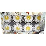 Hana Blossom Handmade Fairtrade Scented Daisy Tealight Candle in Designs Gift Set