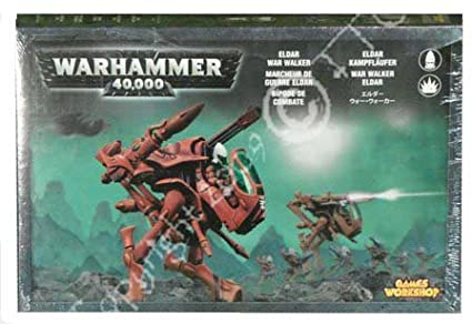 Games Workshop - 99120104012 - Warhammer 40.000 - Figurine - Marcheur De Guerre Eldar