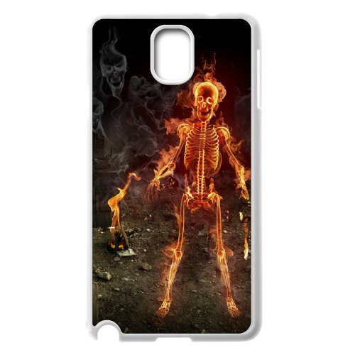 Samsung Galaxy Note 3 N9000 Skeleton Phone Back Case Custom Art Print Design Hard Shell Protection Aq040966