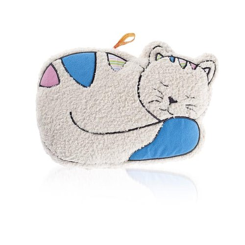Fashy Cuddly Hot Water Bottle Cat 0.8L