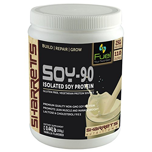 Sharrets - Isolated Soy Protein 90% Vanilla Flavor 200g.