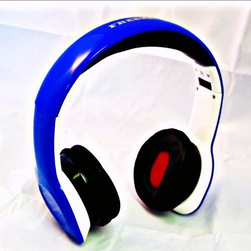 Freeze X-Treme I-Kool Freeze Series Headphone With Bass Boost (Blue)