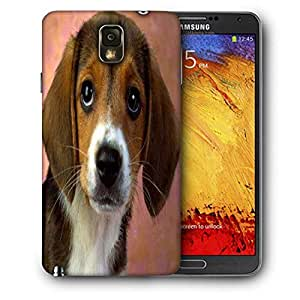 Snoogg Cute Puppy Printed Protective Phone Back Case Cover For Samsung Galaxy NOTE 3 / Note III