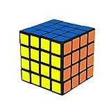 Speed Cube 4x4 - schwarz - 4x4x4 Zauberwürfel Speedcube - Cubikon Typ Cheeky Sheep