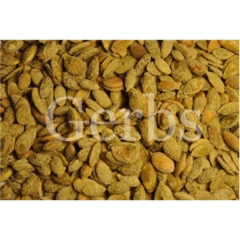 Dry Roasted Pumpkin Seed Kernels Tossed In Sugar & Cinnamon By Gerbs - 2Lb. Deal. Certified Top 10 Allergen Free - Non Gmo - Country Of Origin Mexico