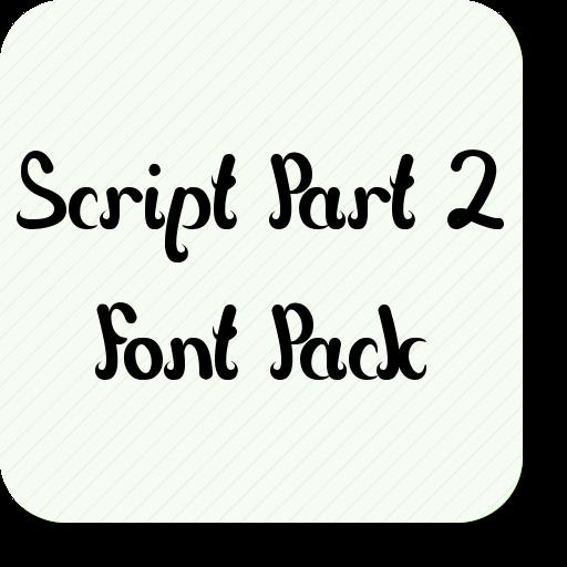 Script part font pack amazon app shop per android