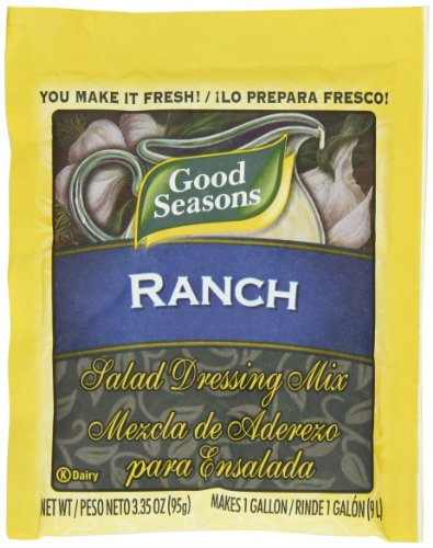 Good Seasons Ranch Salad Dressing, 3.35-Ounce Packages (Pack of 20)
