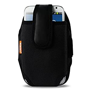Reiko Sport Case for Samsung Galaxy Note II N7100 US Carrier At&T, Verizon - Retail Packaging - Black