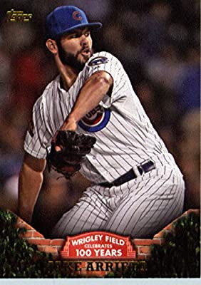 2016 Topps #WRIG-5 Jake Arrieta Chicago Cubs Baseball Card -MINT