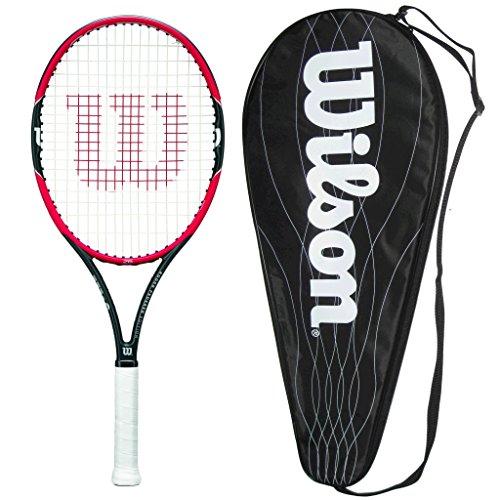 Wilson 2016 Pro Staff 26 Junior Tennis Racquet - Strung with Cover - 0 Grip