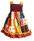 Persnickety Clothing Patchwork Dress Multi