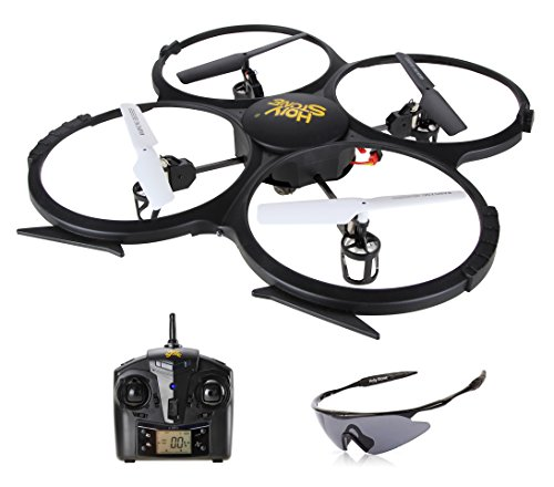 Holy Stone U818A HD Plus RC Drone with Camera 720P One Key Return