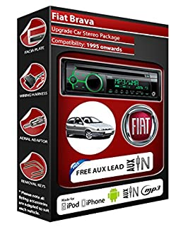 Fiat Brava Autoradio CD MP3 radio play Clarion, iPod, iPhone, Android