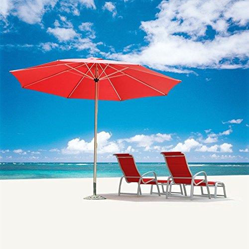 grand patio 10 ft heavy duty outdoor market umbrella 240g. Black Bedroom Furniture Sets. Home Design Ideas