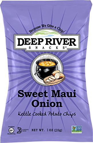 Deep River Snacks Kettle Chips, Sweet Maui Onion, 1-Ounce Bags (Deep River Kettle Chips Variety compare prices)