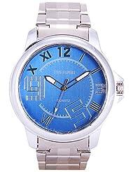 Time Expert Analogue Blue Dial Men's Watch - TE100316