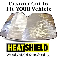 Sunshade compatible with BMW 2-Series Coupe 2014 2015 2016 Heatshield Windshield Custom-fit Sunshade #1494 by HeatShield