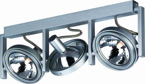Massive 53063/48/10 Futura 3 (g9) Bar Spotlight - Aluminium