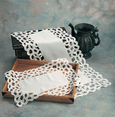 Embroidered Cutwork Napkin 20