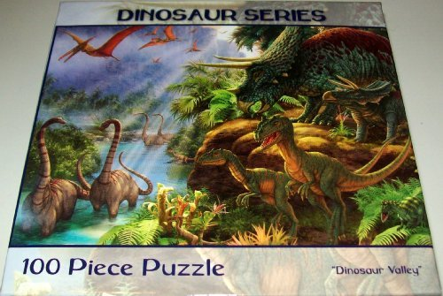 Dinosaur Series 100 Piece Puzzle~ Dinosaur Valley