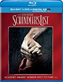 Schindlers List (Blu-ray + DVD + DIGITAL HD with UltraViolet)